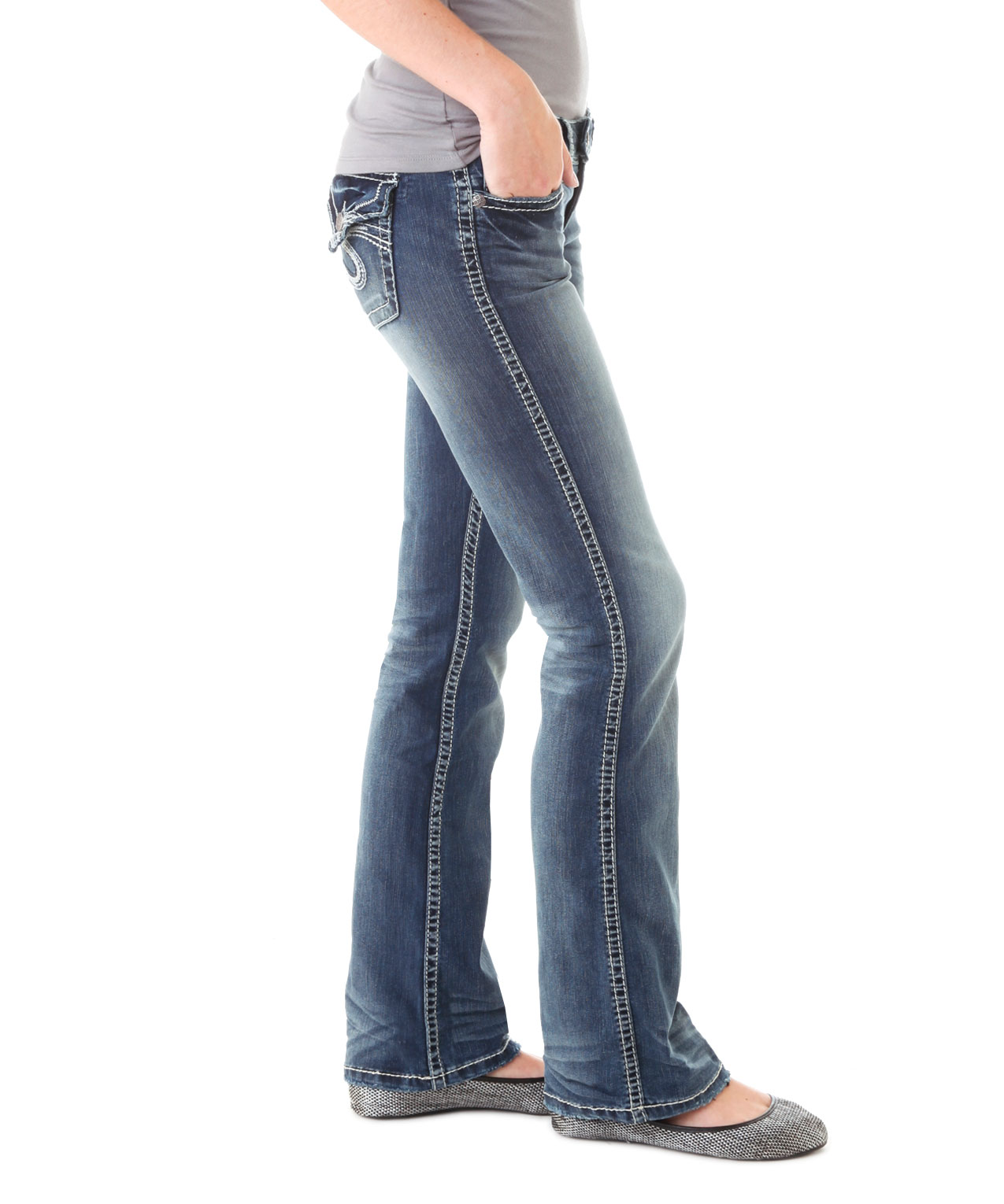 Tuesday Low Rise Ssf237 Silver Jeans Co