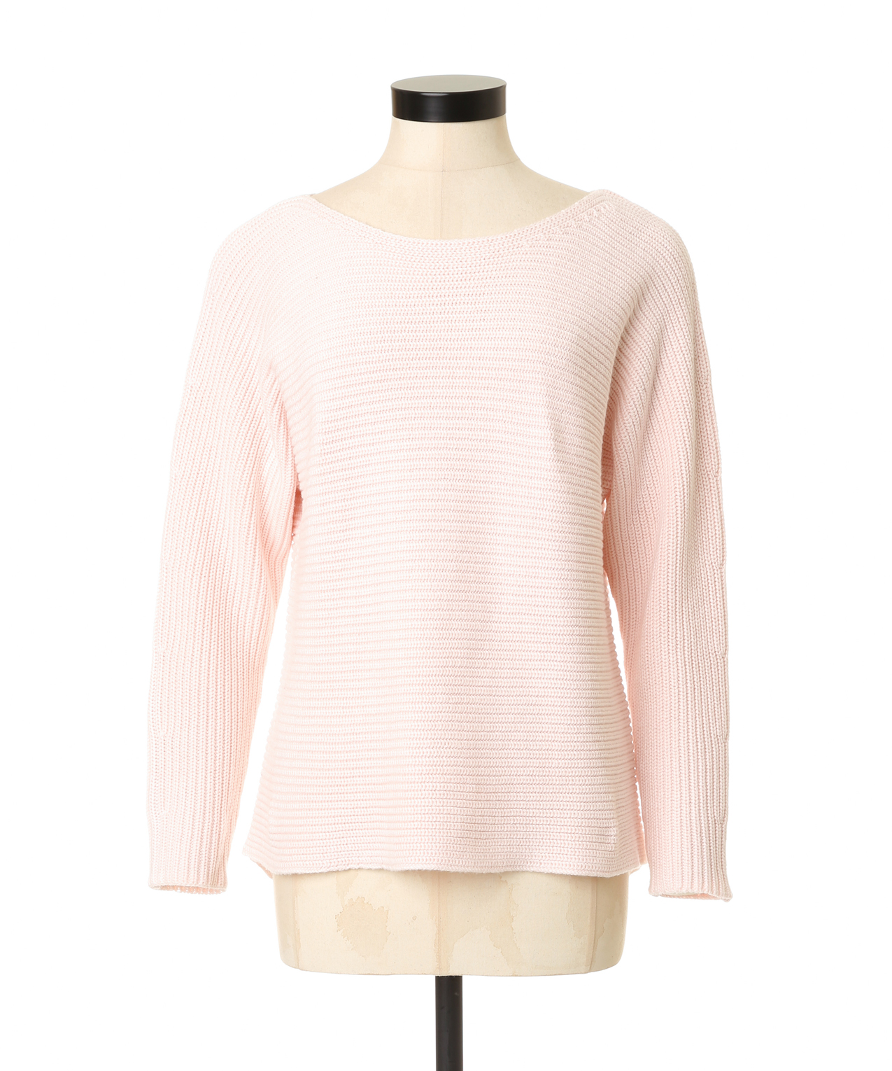 horizontal ribbed sweater | guess